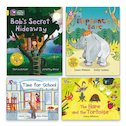 Big Cat Readers Pack: Book Band Yellow x 4
