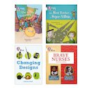 Big Cat Readers Pack: Book Band White x 4