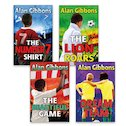Barrington Stoke: Alan Gibbons Football Pack x 4