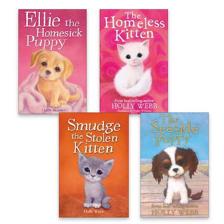 Holly Webb Animal Stories Pack x 4