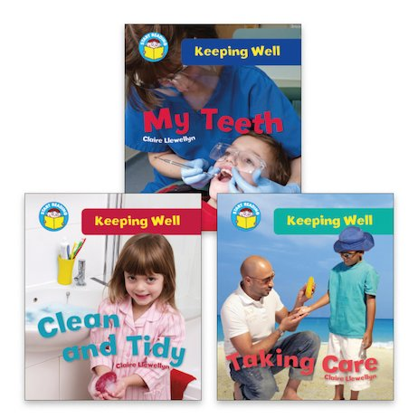 Start Reading: Keeping Well Pack (Book Band Yellow) x 3