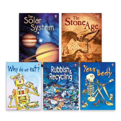 Usborne Beginners Book Band Gold Pack x 4