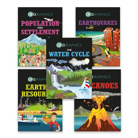 Geographics Pack B x 5 (Hardbacks)