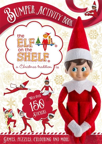 The Elf on the Shelf Bumper Activity Book