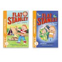 Reading Ladder: Flat Stanley Level 2 Pair (Book Band Turquoise)