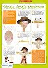 Make a scarecrow toy