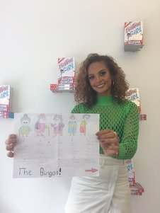 Alesha Dixon with BINGOs