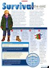 Survival in the cold – information text