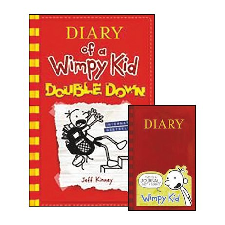 Diary of a Wimpy Kid: Double Down with Notebook