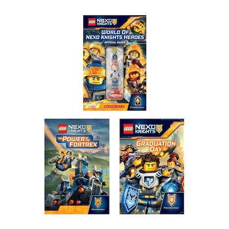 LEGO® NEXO KNIGHTS™: World of NEXO Knights Heroes Official Guide with 2 FREE Books