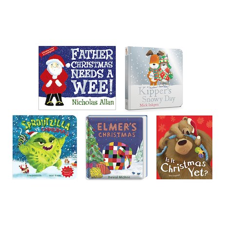 Christmas Board Books Pack x 5