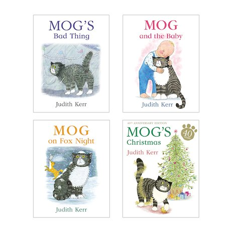 Mog's Christmas Pack x 4