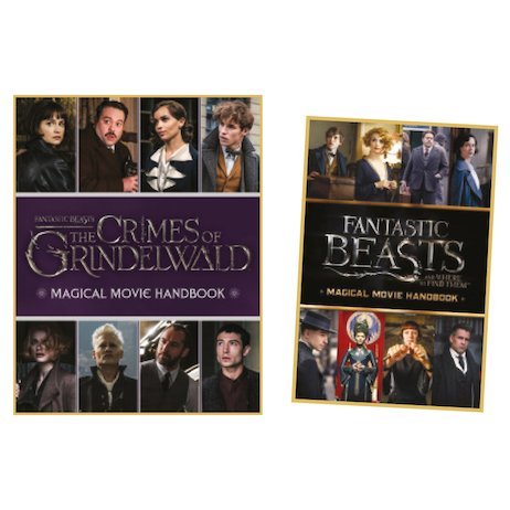 Fantastic Beasts: The Crimes of Grindelwald Magical Movie Handbook with FREE Original Movie Handbook