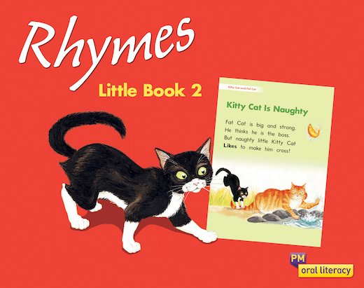 PM Oral Literacy Emergent: Rhymes Little Book 2 x6