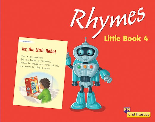 PM Oral Literacy Emergent: Rhymes Little Book 4 x6