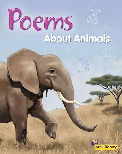 PM Oral Literacy Emergent: Poems About Animals x6