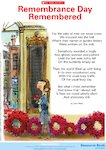 'Remembrance Day Remembered' poem by John Mole (1 page)