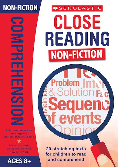 Close Reading Non Fiction Teacher S Book Ages 8