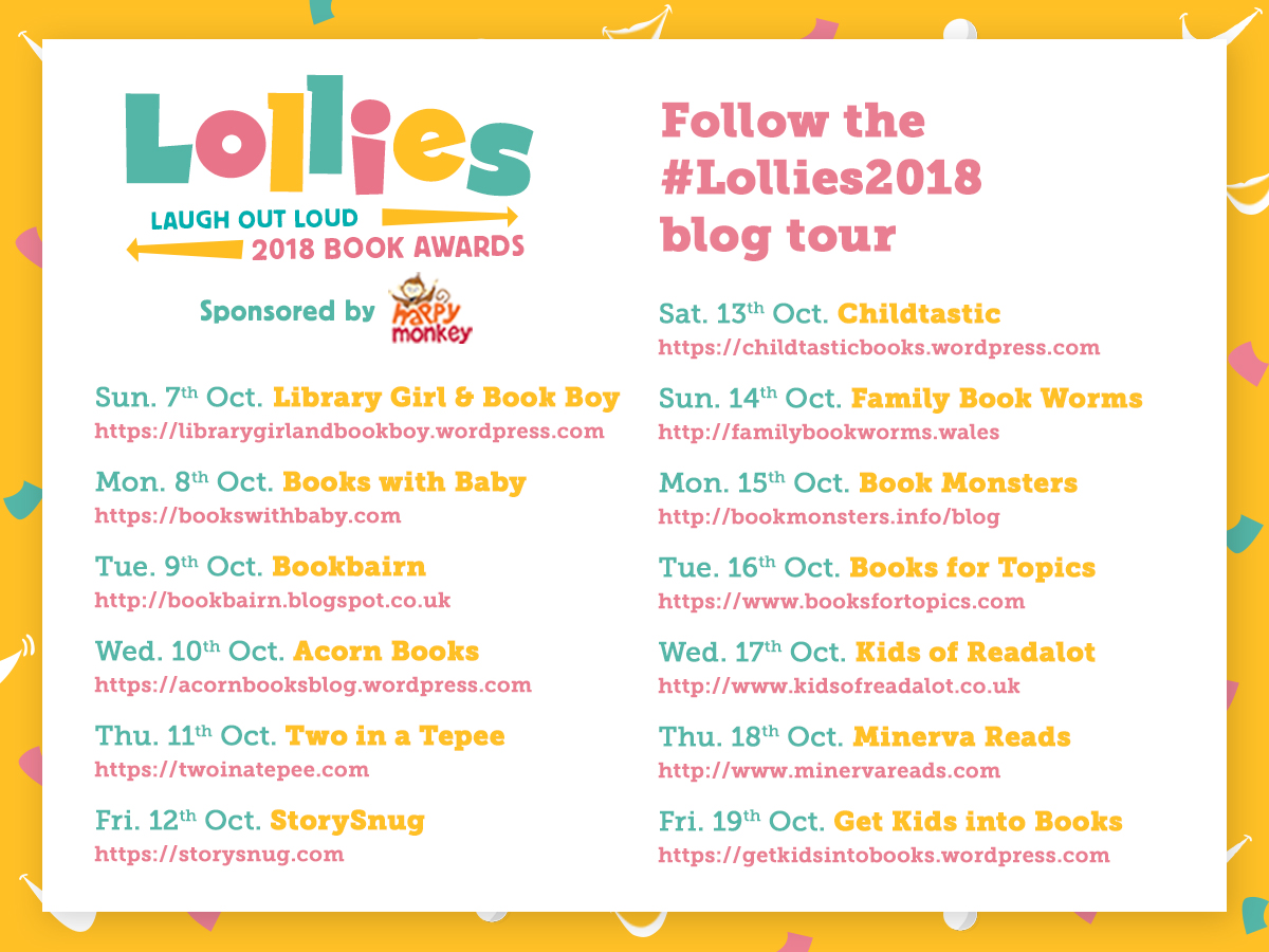 Follow the #Lollies2018 blog tour