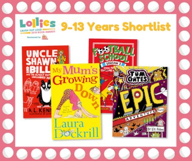 9-13 Years shortlist