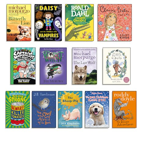 Gifted Readers Ages 5-7 Pack x 13