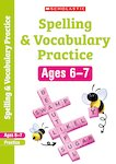 Scholastic English Skills: Spelling and Vocabulary Workbook (Year 2) x 30