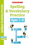 Scholastic English Skills: Spelling and Vocabulary Workbook (Year 3) x 30