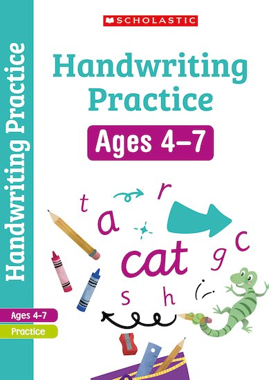 Scholastic English Skills: Handwriting Workbook (Reception-Year 2) x 30