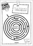 Tom Gates What Monster? Maze activity sheet (1 page)