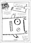 Tom Gates What Monster? Monster mask activity sheet (1 page)