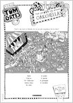 Tom Gates What Monster? Oakchella activity sheet (1 page)