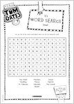 Tom Gates What Monster? Word Search activity sheet (1 page)