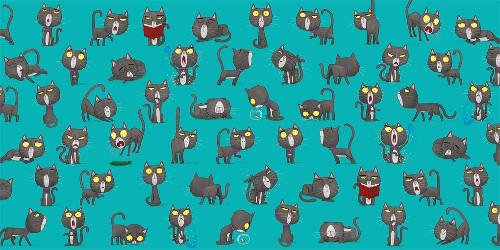 Oi Cat! Endpapers