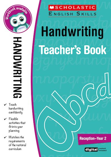 Handwriting Teacher's Book (Reception-Year 2)