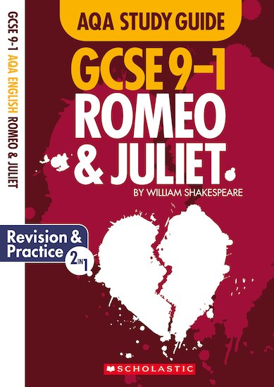 gcse grades  study guides romeo and juliet aqa english  enlarge cover