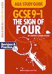 GCSE Grades 9-1 Study Guides: The Sign of Four AQA English Literature x 10
