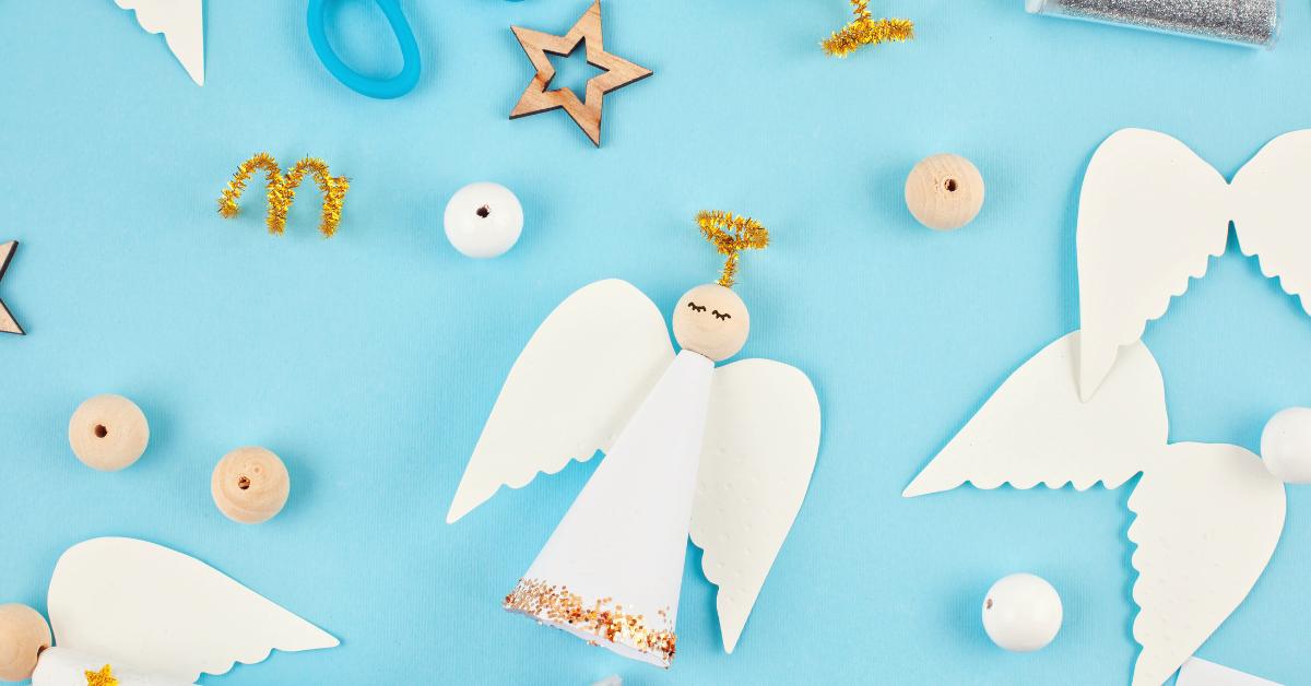 Making angel crafts
