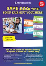 Gift Vouchers poster - Travelling Books