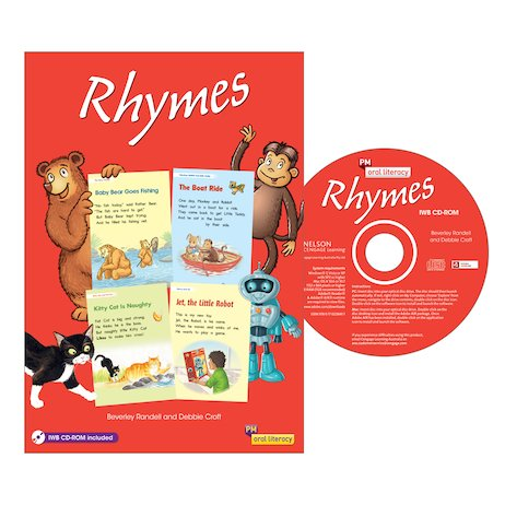 Rhymes Big Book with CD-Rom