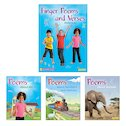 PM Oral Literacy Emergent: Finger Poems and Verses Mixed Pack (4 books)