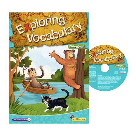 Exploring Vocabulary Big Book + IWB DVD