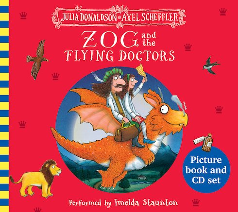 Zog and the Flying Doctors: Book and CD