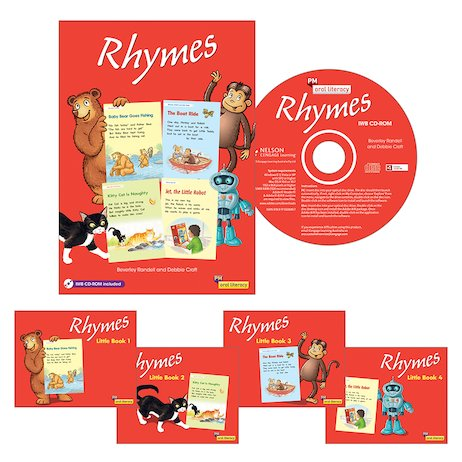 PM Oral Literacy Emergent: Rhymes Guided Reading Pack (25 books)
