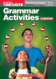 Grammar Activities: Elementary