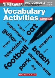 Vocabulary Activities: Elementary