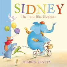 Sidney the Little Blue Elephant (Board Book)