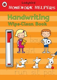 Ladybird Homework Helpers: Handwriting Wipe-Clean Book