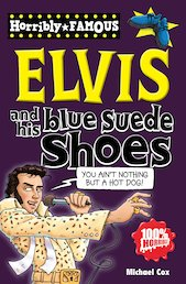 Elvis and his Blue Suede Shoes
