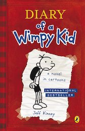 Diary of a Wimpy Kid x 6