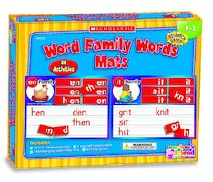 Mats Word Family Words